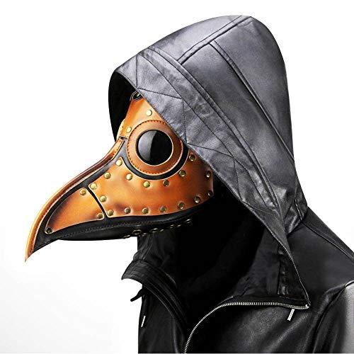 WEII Kreative Vogel Mund Maske Steampunk Pest Vogel Mund Maske Halloween Make-up Requisiten Cosplay Requisiten,Bild,Einheitsgröße