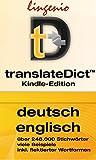 translateDict?: Lingenio Wörterbuch Deutsch-Englisch: Direktes Nachschlagen von Wörtern aus Ihrem Amazon Kindle heraus