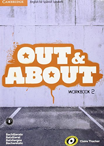 Out and About Level 2 Workbook with Downloadable Audio - 9788490368077 por Claire Thacker