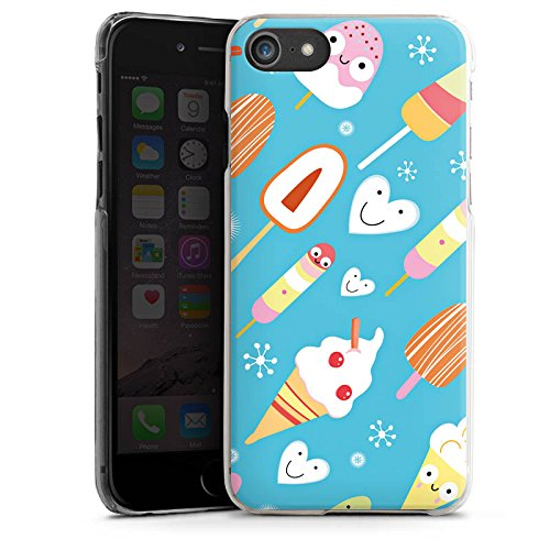 Apple iPhone 4s Silikon Hülle Case Schutzhülle Ice Cream Süßigkeiten Eis Hard Case transparent