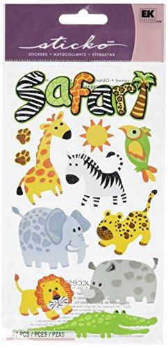 Unbekannt Sticko Safari-Aufkleber