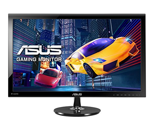 Asus VS278Q 68,6 cm (27 Zoll) Monitor (Full HD, VGA, HDMI, DisplayPort, 1ms Reaktionszeit) schwarz (Gaming-monitor-tv)