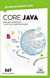 Core Java Interview Questions You'll Most Likely be Asked: Volume 8 (Job Interview Questions Series)