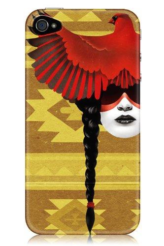 Sharp Shirter Cardinal Warrior iPhone 4& 4S Fall (Prinzessin Native)