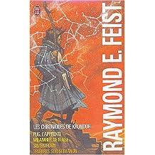 Krondor : la guerre de la faille : Coffret 4 volumes : Tome 1, Pug, l'apprenti ; Tome 2, Milamber, le mage ; Tome 3, Silverthorn ; Tome 4, Ténèbres sur Sethanon