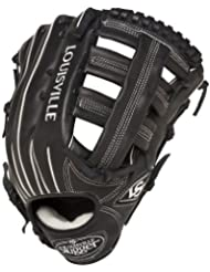 Louisville Slugger 12.75-Inch FG Pro Flare Baseball Outfielders Gloves, Black, Right Hand Throw by Louisville Slugger