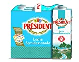President Leche Semidesnatada - 6 x 1 L