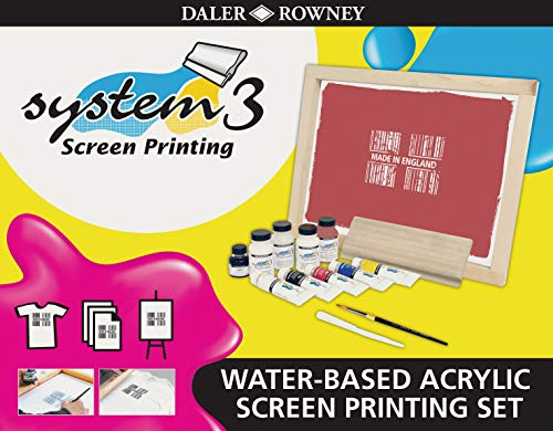 Daler Rowney System 3 Screen Printing Set by Daler Rowney -