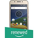 (Certified Refurbished) Motorola G5 XT1677 (Fine Gold, 16GB)
