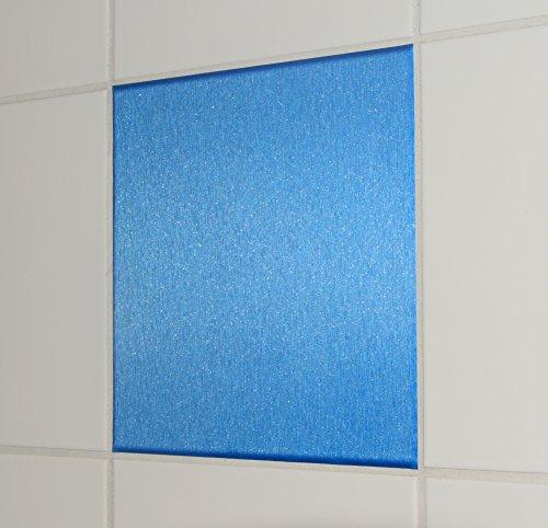 10-pezzi-in-alluminio-spazzolato-guardare-mattonelle-blu-adesivo-20x20cm