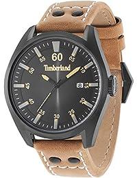 Timberland Reloj Analógico para Hombre de Cuarzo con Correa en Cuero  TBL15025JSB.02A d98b50e060d0