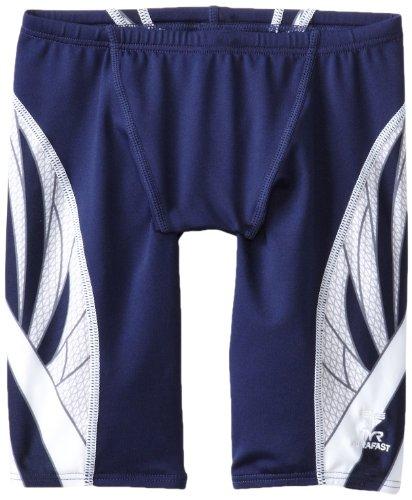TYR Sport Herren Phoenix Splice Jammer Badeanzug, Herren, Marineblau/weiß, 36 (Phoenix Kostüm Männlich)