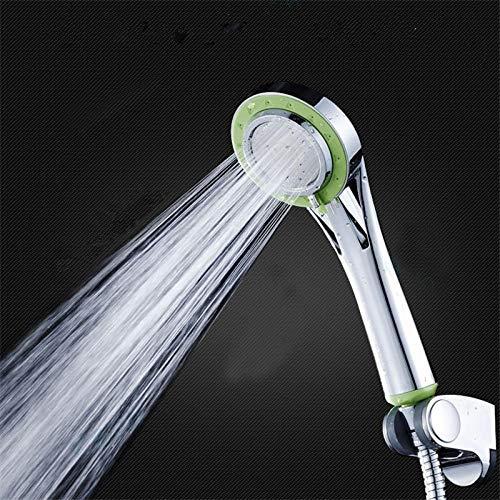 Bad Infusion (Multifunktions- Duschkopf- Druck- Negativ- Haushalts- Bad- Zubehör- Hand- Bad- dritten Gang einstellbar große Platte Wasser Massage grün)