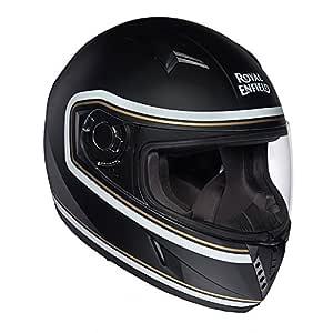 Royal Enfield Black Full Face Helmet Size (M)58 CM (RRGHEH000109)