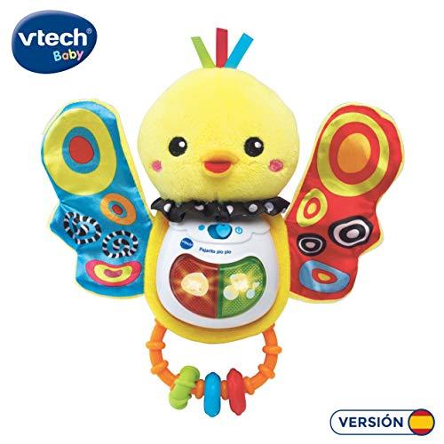 VTech-80-185322 Sonajero Pajarito pío con Voz