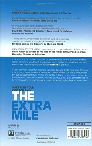 The Extra Mile:How to engage your people to win