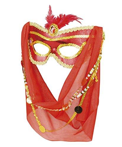 Boland 00204Ojo Máscara mil y una Noche, Disfraz, One Size