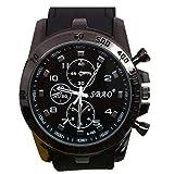 CLOOM Edelstahl Luxussport uhr herren analoge Quarz moderne Mann Art und Silikon Sportuhr Mode Gentleman Uhren herrenuhren Business uhren herren männer uhren armbanduhr herren armbanduhren (A)