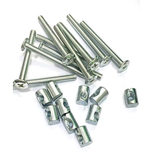 Aerzetix 50 boulons vis sans t/ête M5x10 DIN913 acier noirci empreinte Allen 2.5mm C18291