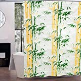 LOOMANTHA miles to go…. Multicolor Printed Waterproof PVC Shower Curtain