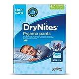 Huggies DryNites 4-7Jahre Jungen (17-30kg)-Unterwäsche Set Nacht saugstark für Kinder, die machen Pipi im Bett-X32Windelhosen (2Pakete Set von 16)