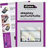 dipos I 3X Schutzfolie klar passend für Garmin DriveSmart 61 LMT-D Folie Displayschutzfolie