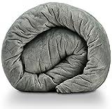 Miran Beschwerte Decke für Erwachsene | Beruhigend, Entspannend, Schlafverbessernd & Angstreduzierend | Hochwertige Waschbare Bettdecke, Abnehmbarer Bezug | 152 x 203 cm | 11 kg |