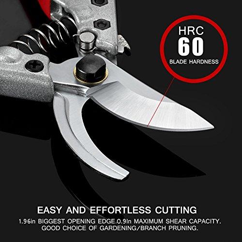 gartenschere-8-sk-5-stahlklingen-baumschere-mit-rutschfesten-ergonomischen-griffen-und-gartenschere-holster-beste-bypass-gartenschere-fuer-baumschneider-schreiner-handscheren-bypass-pruner-und-me