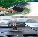 Chauffage de voiture Portable 12V 150W Car véhicule ventilateur de chauffage Dégivreur Winter pare-brise Window Demisterdemister