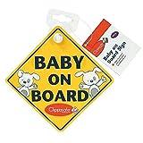 Clippasafe Baby Car Stickers