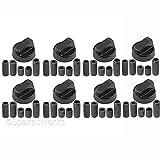 Spares2go Universal Noir Interrupteur De Commande Boutons pour tous fait et modèles...