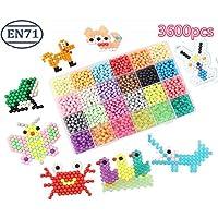 vytung Abalorios Cuentas de Agua 3600 Perlas 24 Colors(6 Jewel) Niños Craft Kits