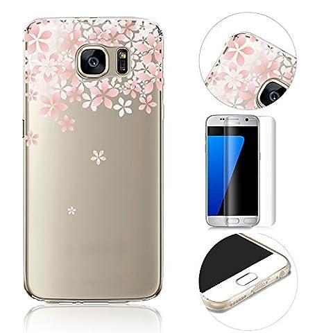 Galaxy S7 TPU Etui,MingKun Ultra Mince Fine Extra Slim Ultra-light