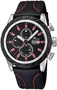 Lotus - 15683/5 - Montre Homme - Quartz - Chronographe - Chronomètre - Bracelet cuir noir
