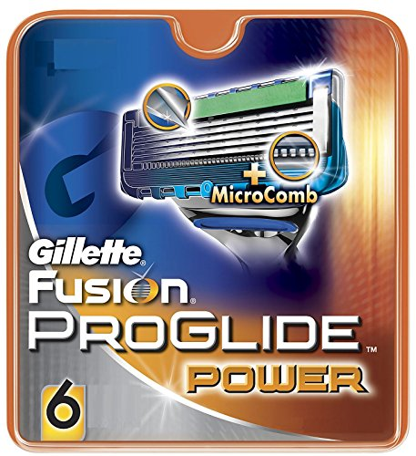 Gillette Fusion Proglide Power Razor Blade (Count*6) with Ayur product in Combo  available at amazon for Rs.2160
