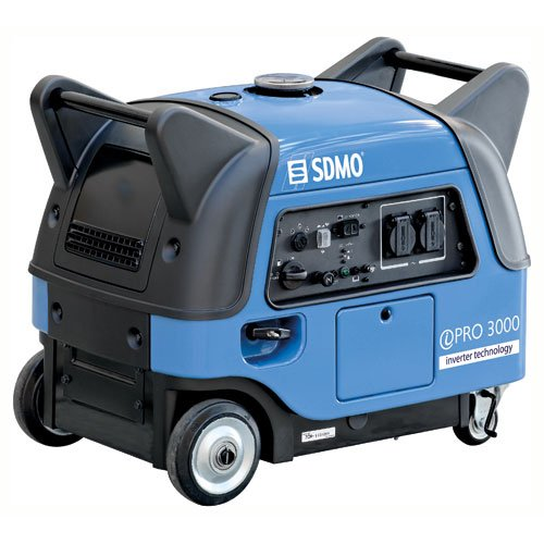 SDMO IPRO 3000E Electric Start Quiet Inverter Petrol Generator 3 Kw with Yamaha MZ171 Engine