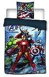 twentyfeet Bettwäsche Avengers für Einzelbett, 100% Mikrofaser, 140 x 200 cm