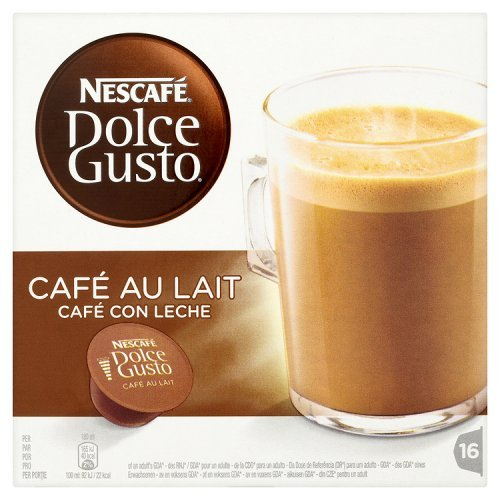 nescafe dolce gusto cafe au lait 160g radio. Black Bedroom Furniture Sets. Home Design Ideas