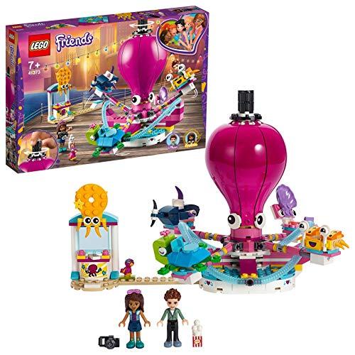 LEGO41373 - Friends Lustiges Oktopus-Karussell, - Freizeitpark Lego Großer