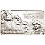 Coin Invest Trust The Liberty Bar Collection – Mount Rushmore $10 2oz Silber Münze – Cookinseln 2018