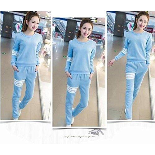 CHUNHUA Au printemps et en automne pyjamas manches longues de Dame coton loisirs sports vêtements slim set l XL XXL XXXL , e , l d