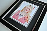 Sportagraphs Dakota Fanning SIGNED 10X8 FRAMED Photo Autograph Display Model Actress & COA PERFECT GIFT