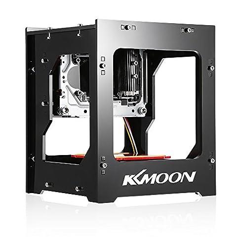 KKmoon DK-8-KZ 1000mW USB Mini Laser Graveur Haute Vitesse, Fonctionnement Hors-Line de la Machine, DIY (108 Chiave Usb)