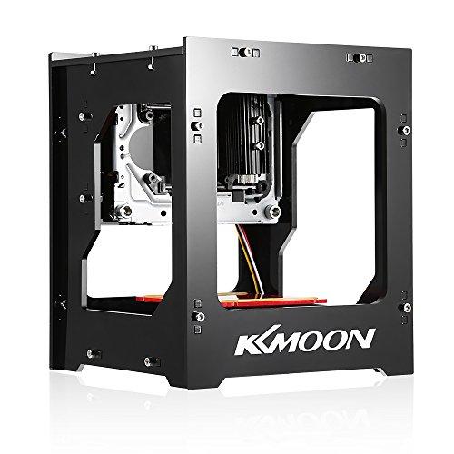 Preisvergleich Produktbild KKmoon DK-8-KZ 1000mW Laser Graviermaschine,Mini USB Gravur Maschine, Schnelle Gravieren Printer, Automatisch DIY Drucken Laser Cutting Engraving Machine, Off-line Betrieb Schnitzer mit Schutzbrille