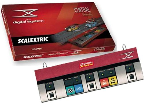 Scalextric Digital System - Central de conexión digital para correr hasta con 6 coches, no incluye coches (2500)