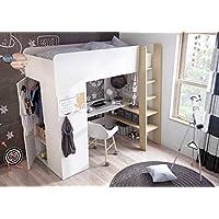 Etagenbett Multifunktions Bett Hochbett TOM mit Matratze preisvergleich bei kinderzimmerdekopreise.eu