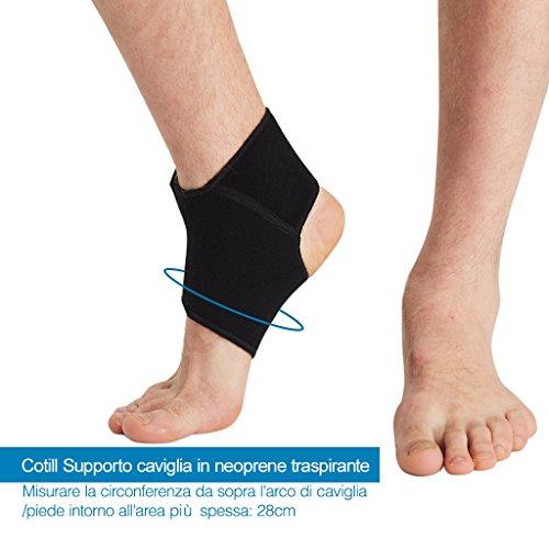 Prezzo cotill supporto caviglia uomini donne