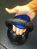 GymPaws Gym Fitness Handschuhe – ECHTES LEDER-| Zuerst und Original Alternative für Trainingshandschuhe - Grips für Gewichtheben (Schwarz)