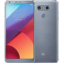 LG Mobile G6Smartphone (14,5cm (5,7pulgadas) pantalla QHD Plus Full Vision, 32GB de memoria, Android 7.2) Platinum