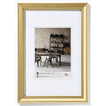 Amazon.de: Bilderrahmen ANTIK GOLD m. Glasscheibe 13x18 cm